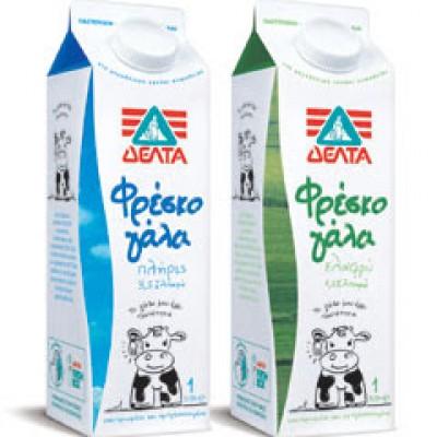 Γάλα ΔΕΛΤΑ  1Lt